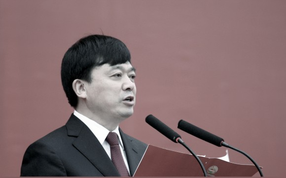 Guo Youming var vice guvernör i Hubei-provinsen 2011. (Foto: STR/AFP/Getty Images)