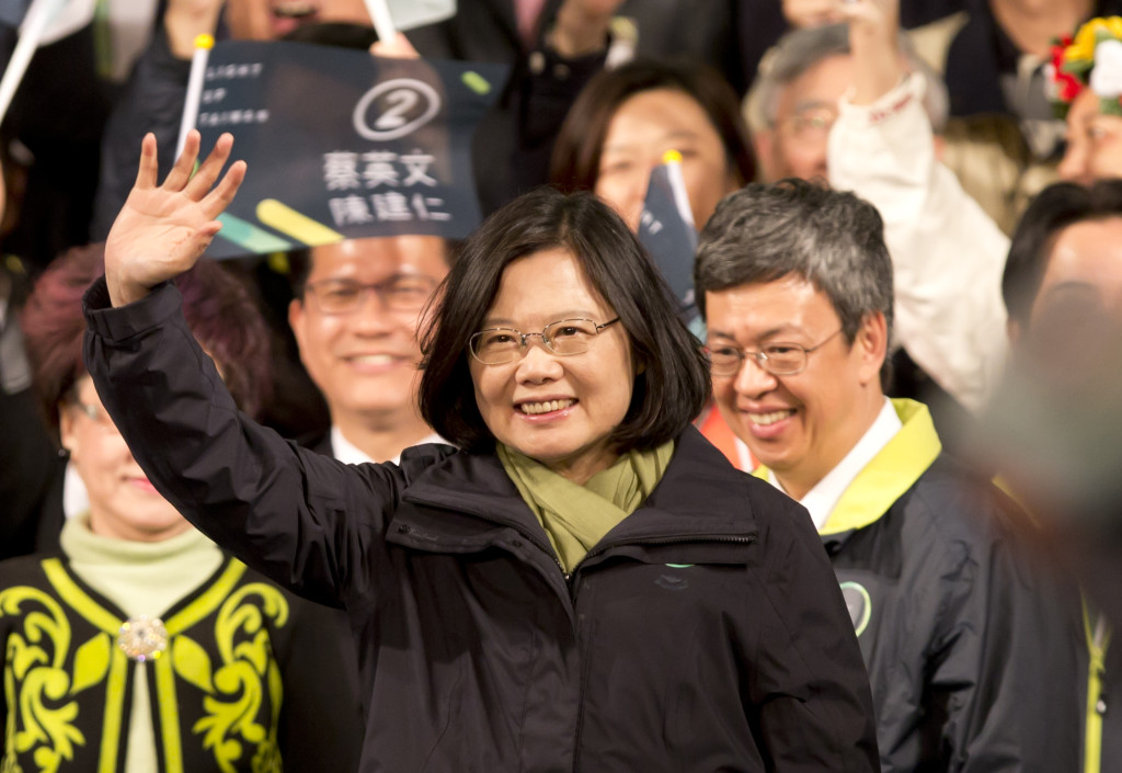 Taiwans tillträdande president Tsai Ing-wen (Foto: Ashley Pon/Getty Images)