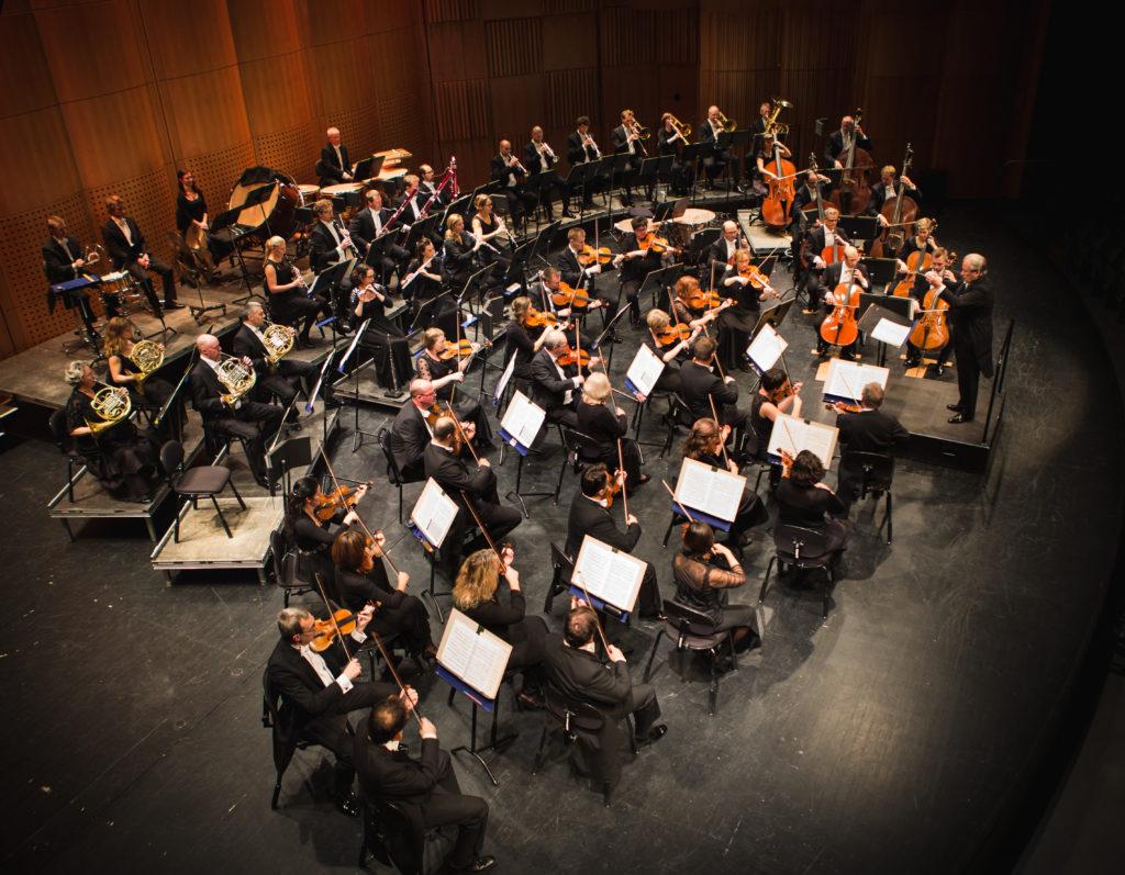 Gävle symfoniorkester. (Foto: Alexander Lindström)
